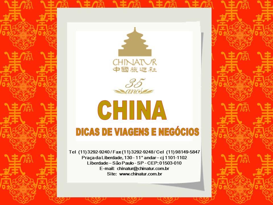 CHINA DICAS DE VIAGENS E NEGÓCIOS