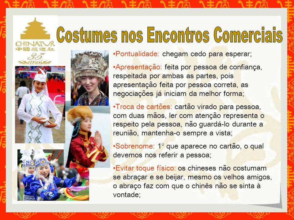 Costumes nos Encontros Comerciais