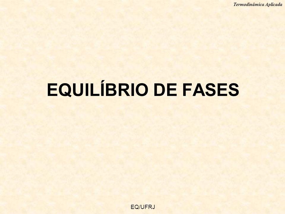 EQUILÍBRIO DE FASES EQ/UFRJ