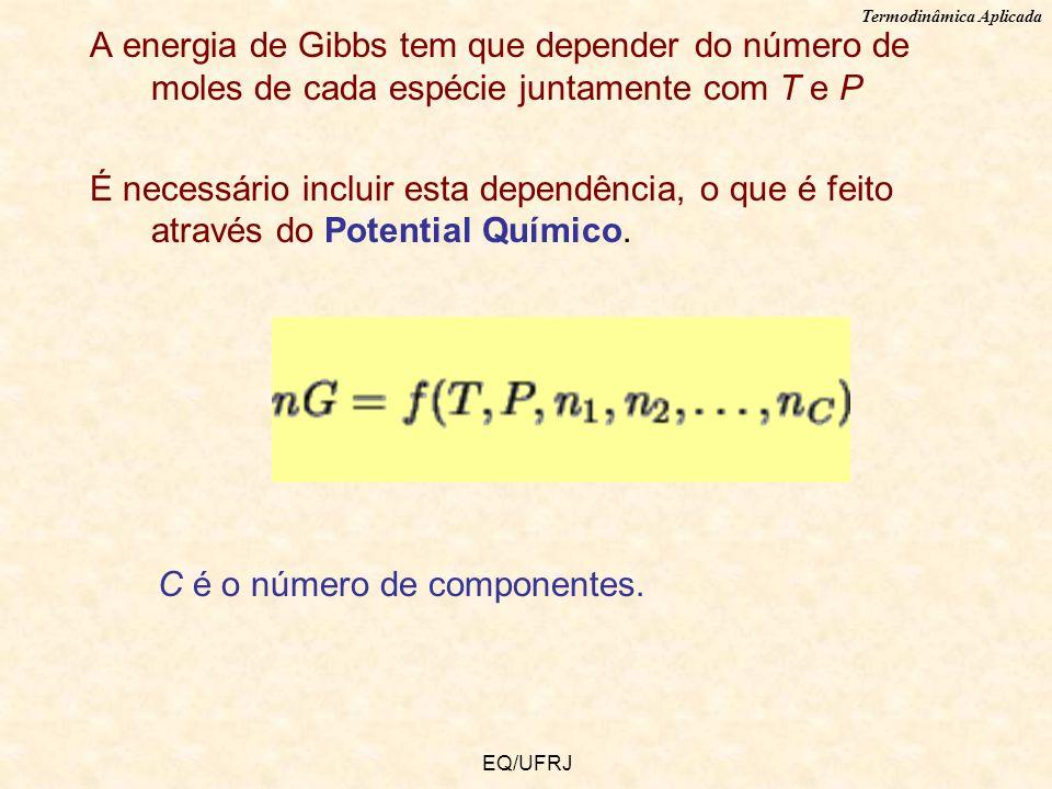C é o número de componentes.