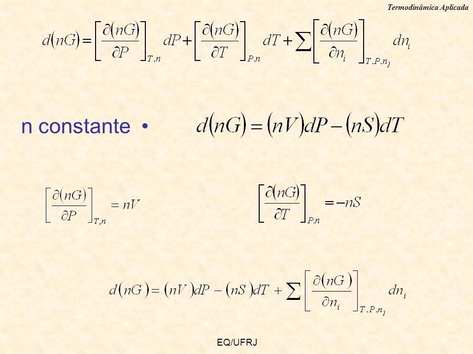 n constante EQ/UFRJ