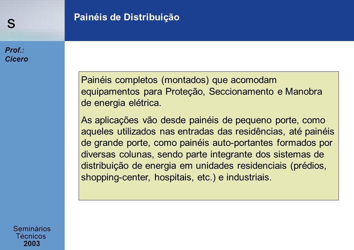 Painéis de Distribuição