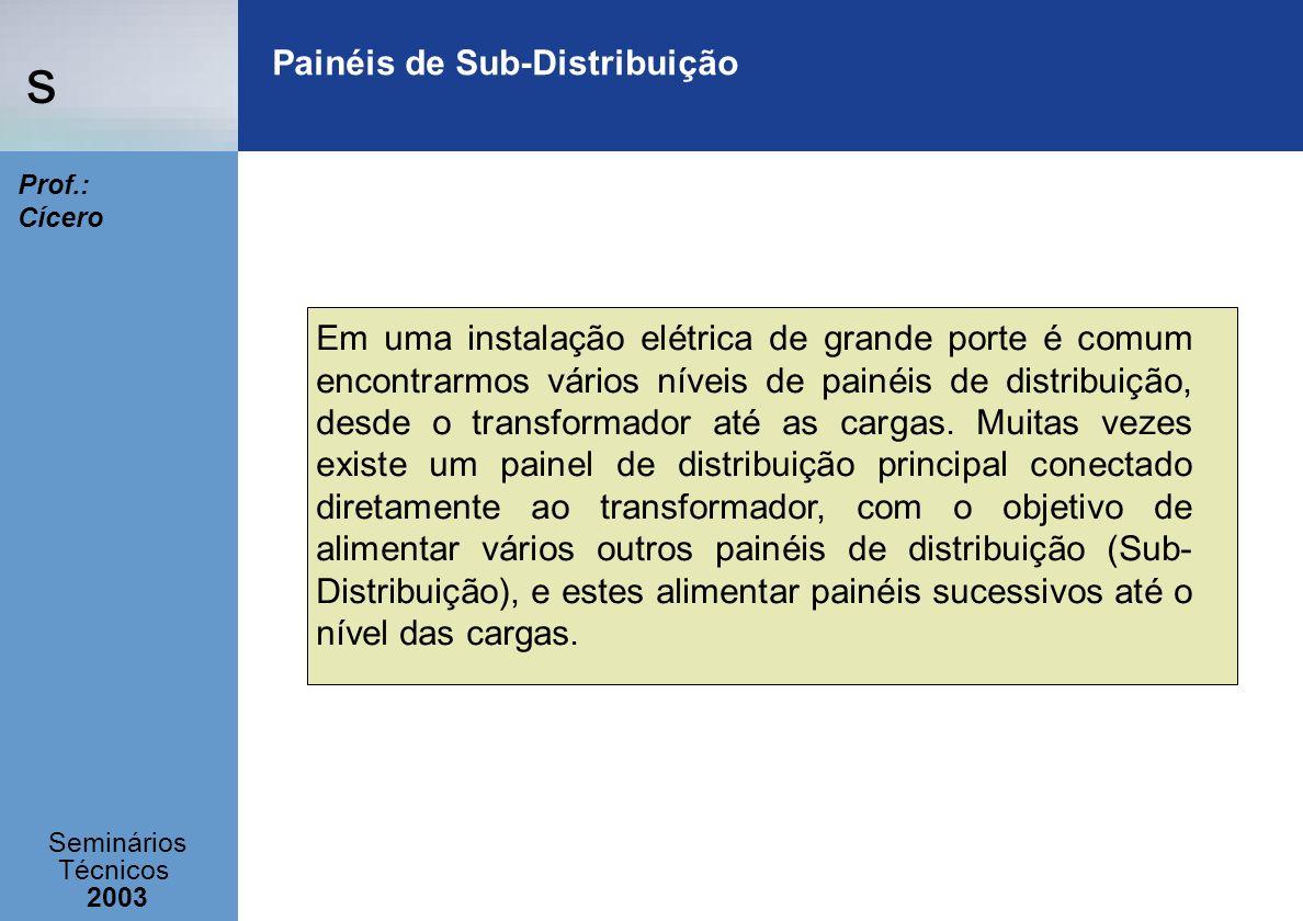 Painéis de Sub-Distribuição