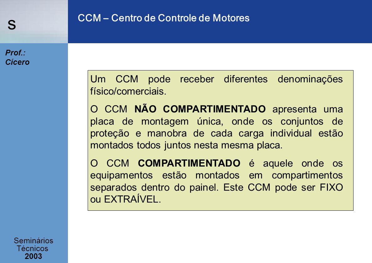 CCM – Centro de Controle de Motores