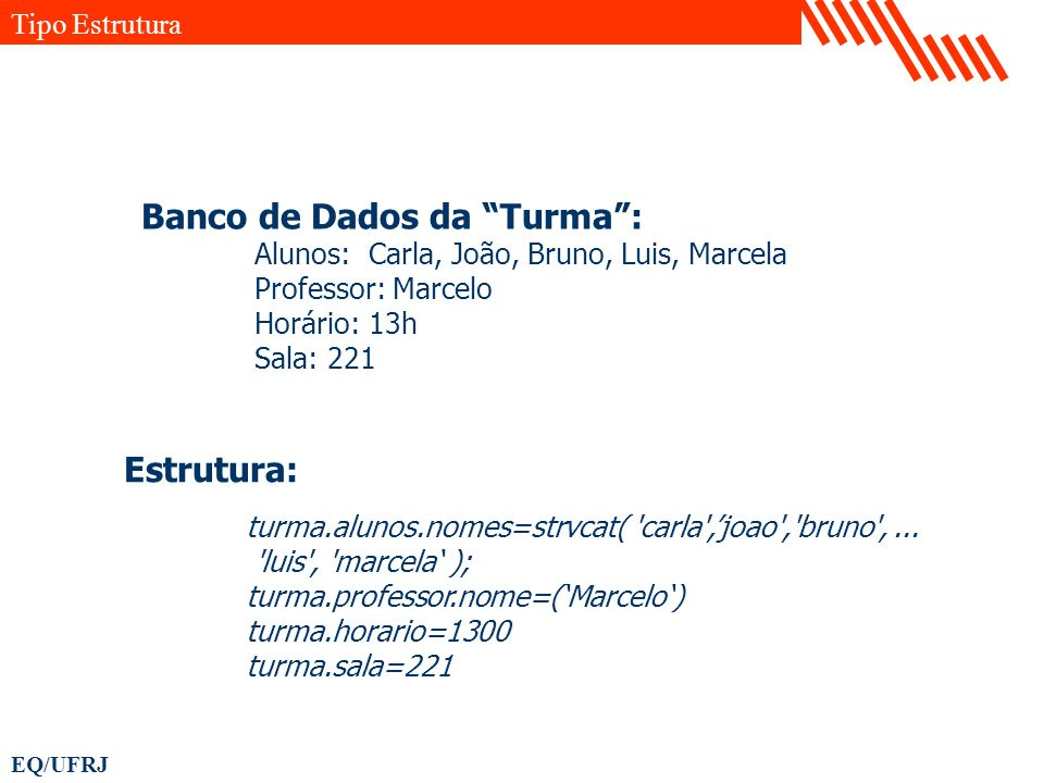 Banco de Dados da Turma :