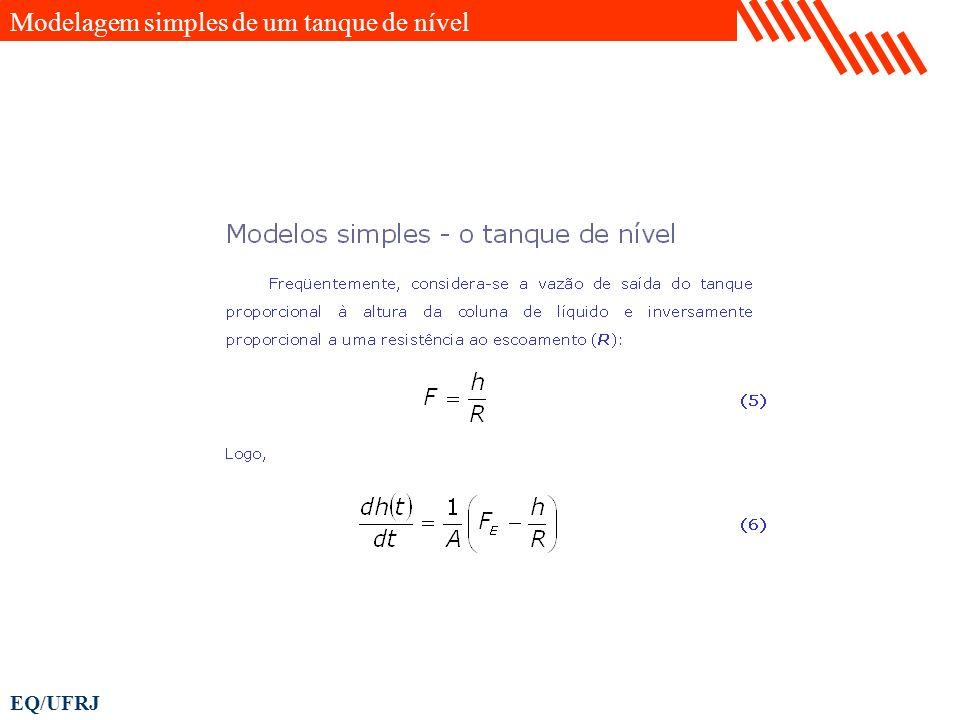 Modelagem simples de um tanque de nível