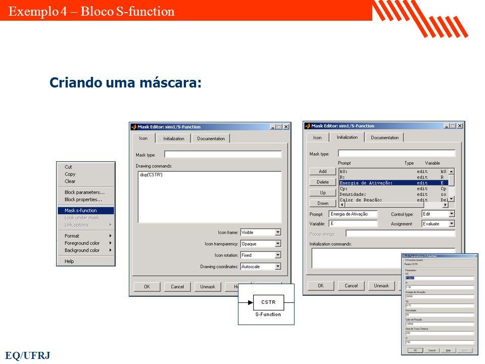 Exemplo 4 – Bloco S-function