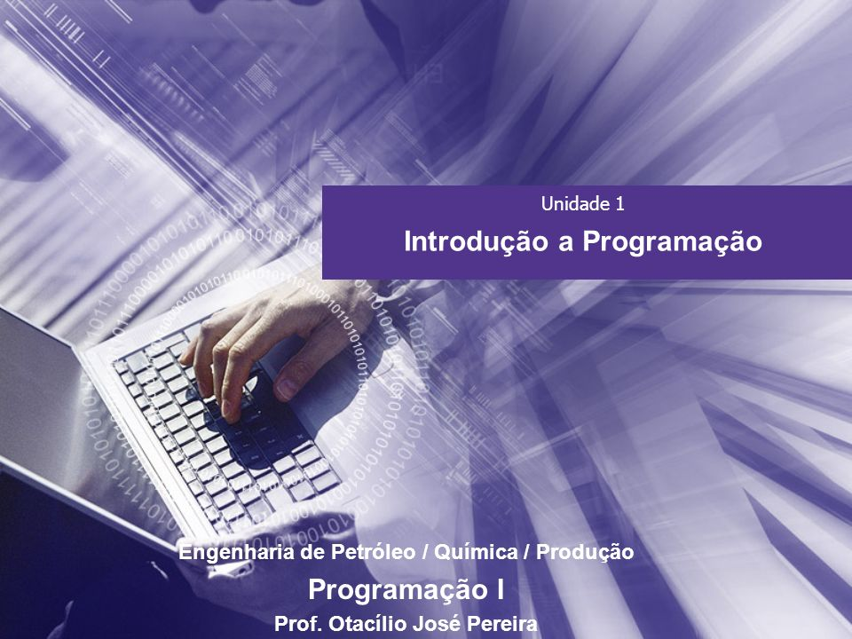 Introdução a Programação