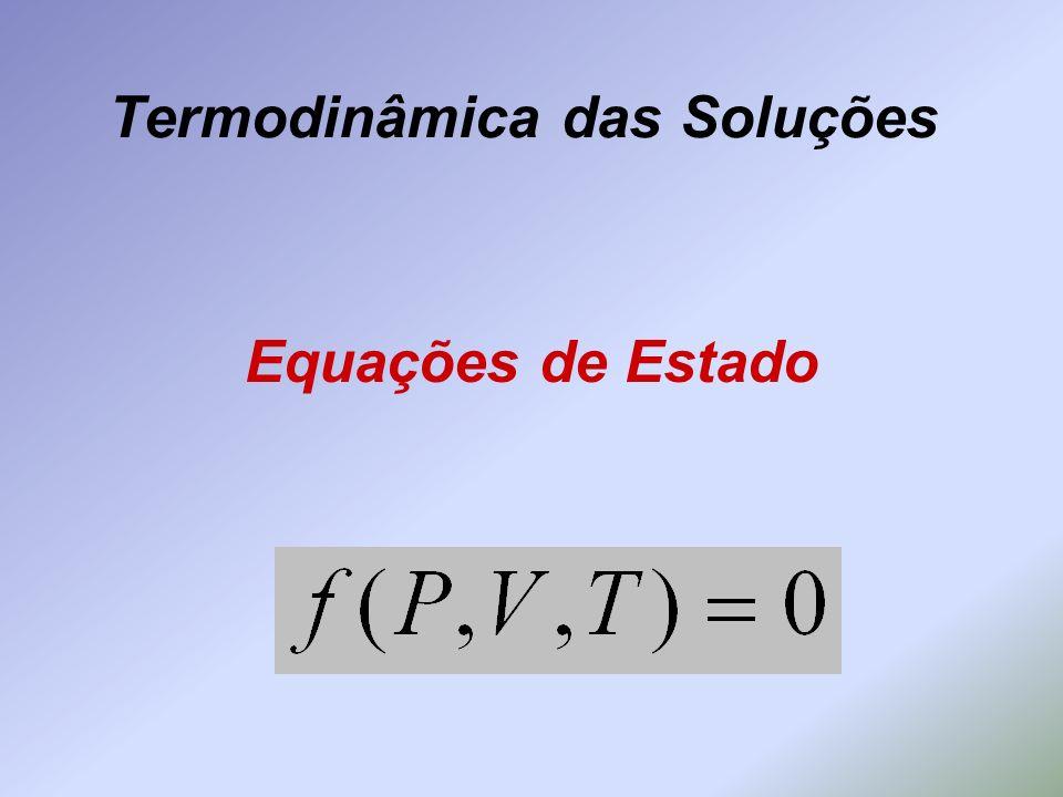 Termodinâmica das Soluções