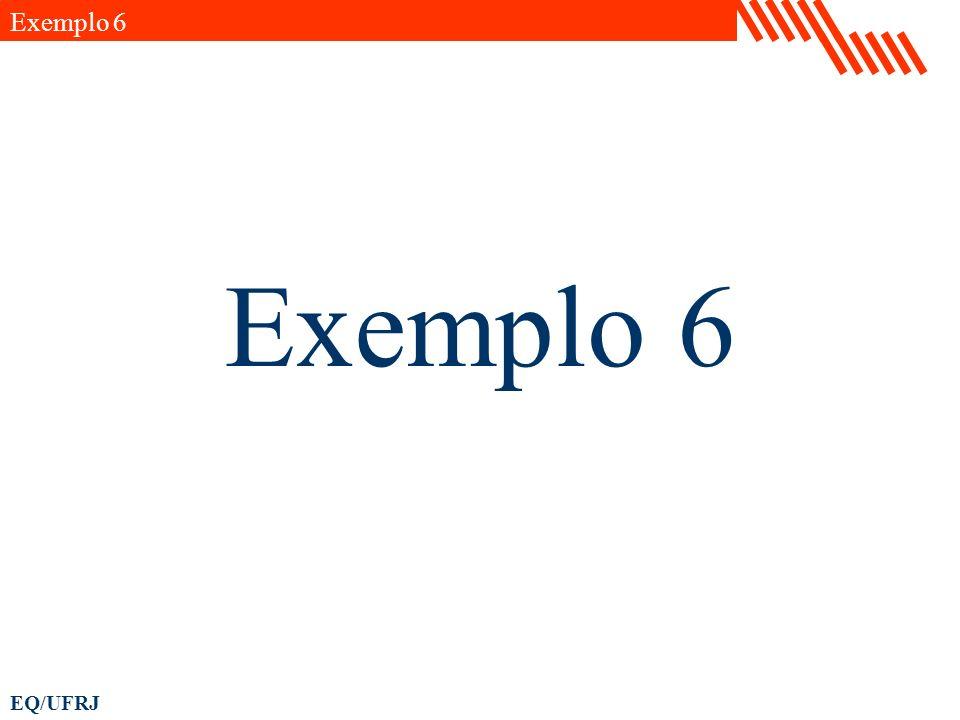 Exemplo 6 Exemplo 6