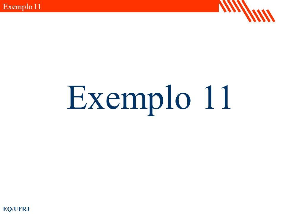 Exemplo 11 Exemplo 11
