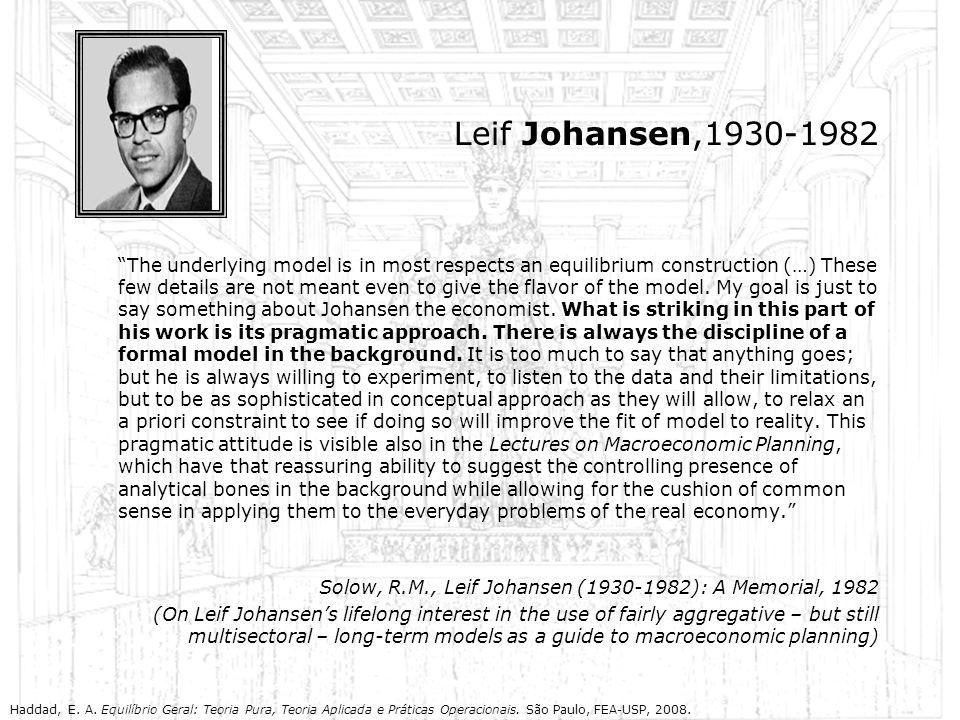 Leif Johansen,1930-1982