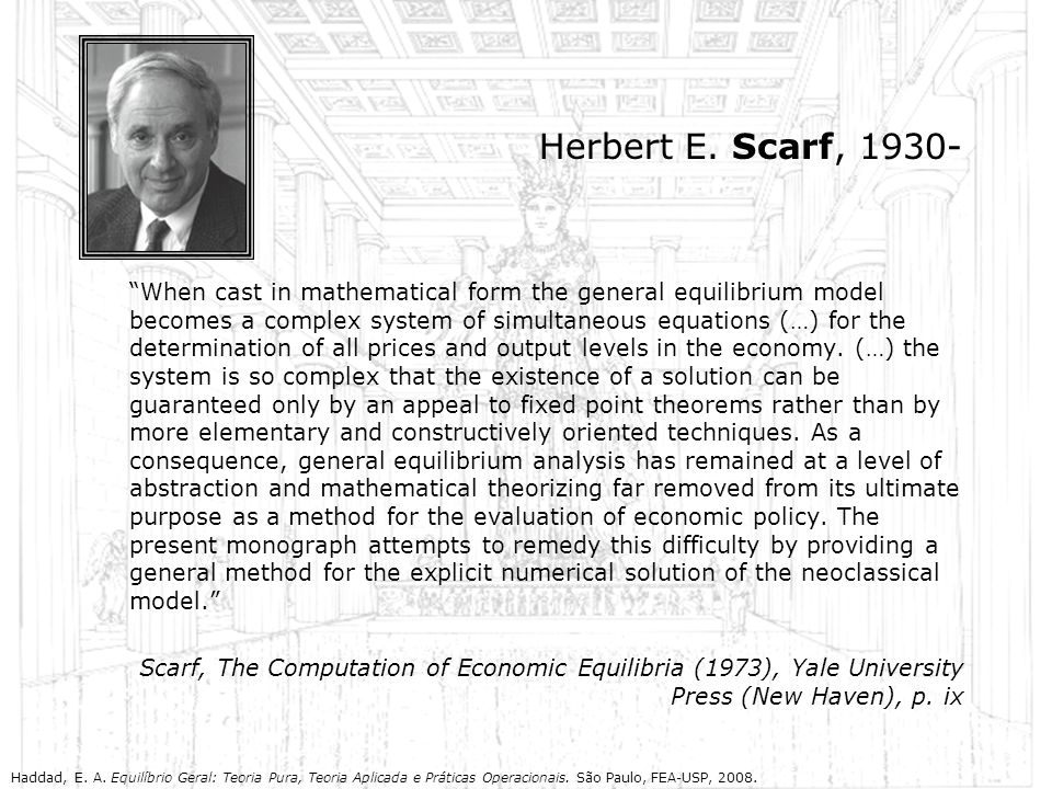 Herbert E. Scarf, 1930-