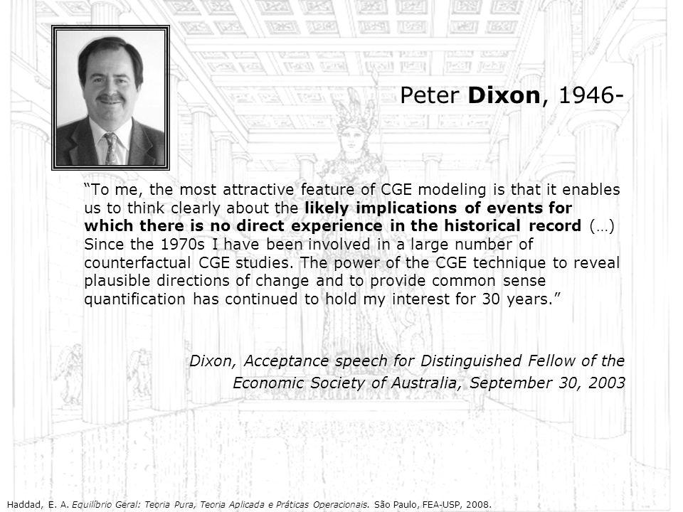 Peter Dixon, 1946-