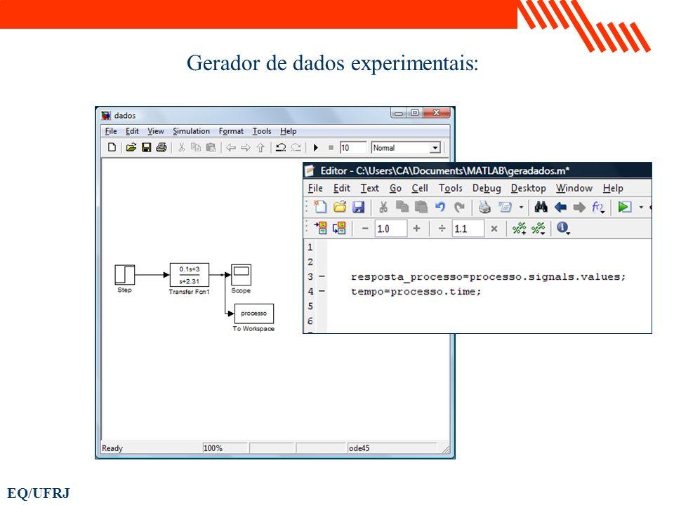 Gerador de dados experimentais: