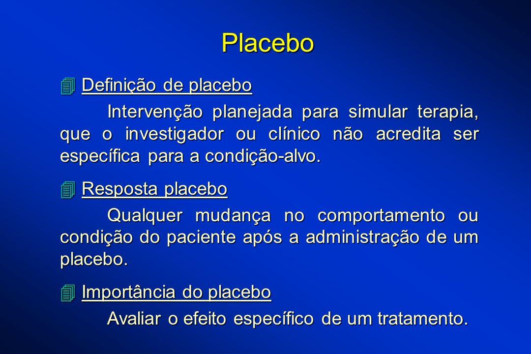 Placebo  Definição de placebo