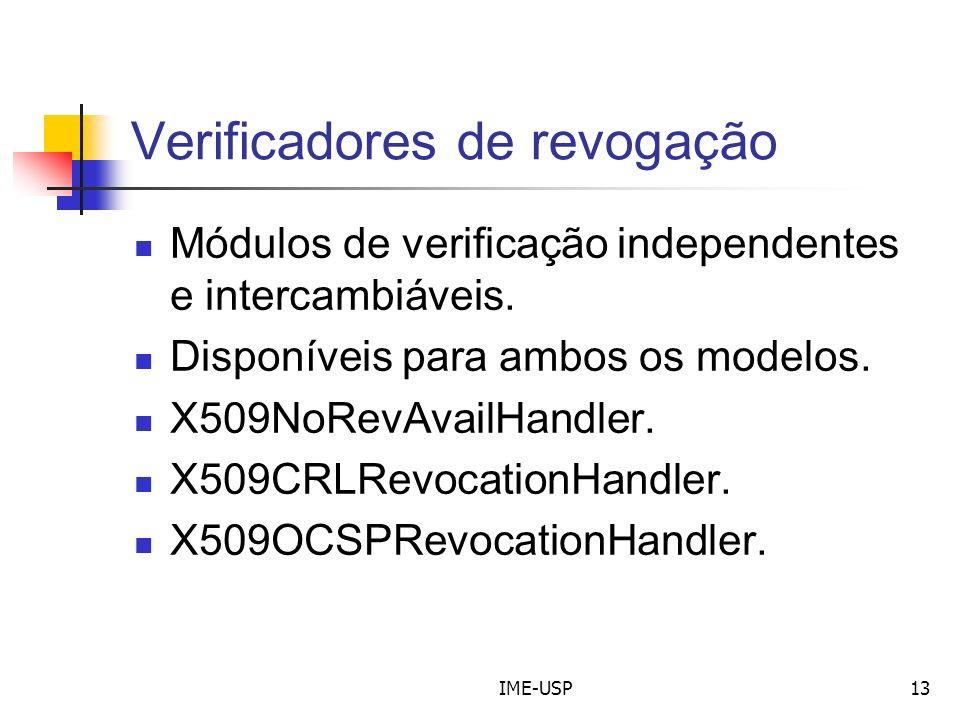 Verificadores de revogação