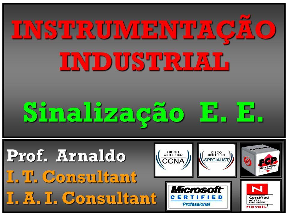 INSTRUMENTAÇÃO INDUSTRIAL Sinalização E. E.