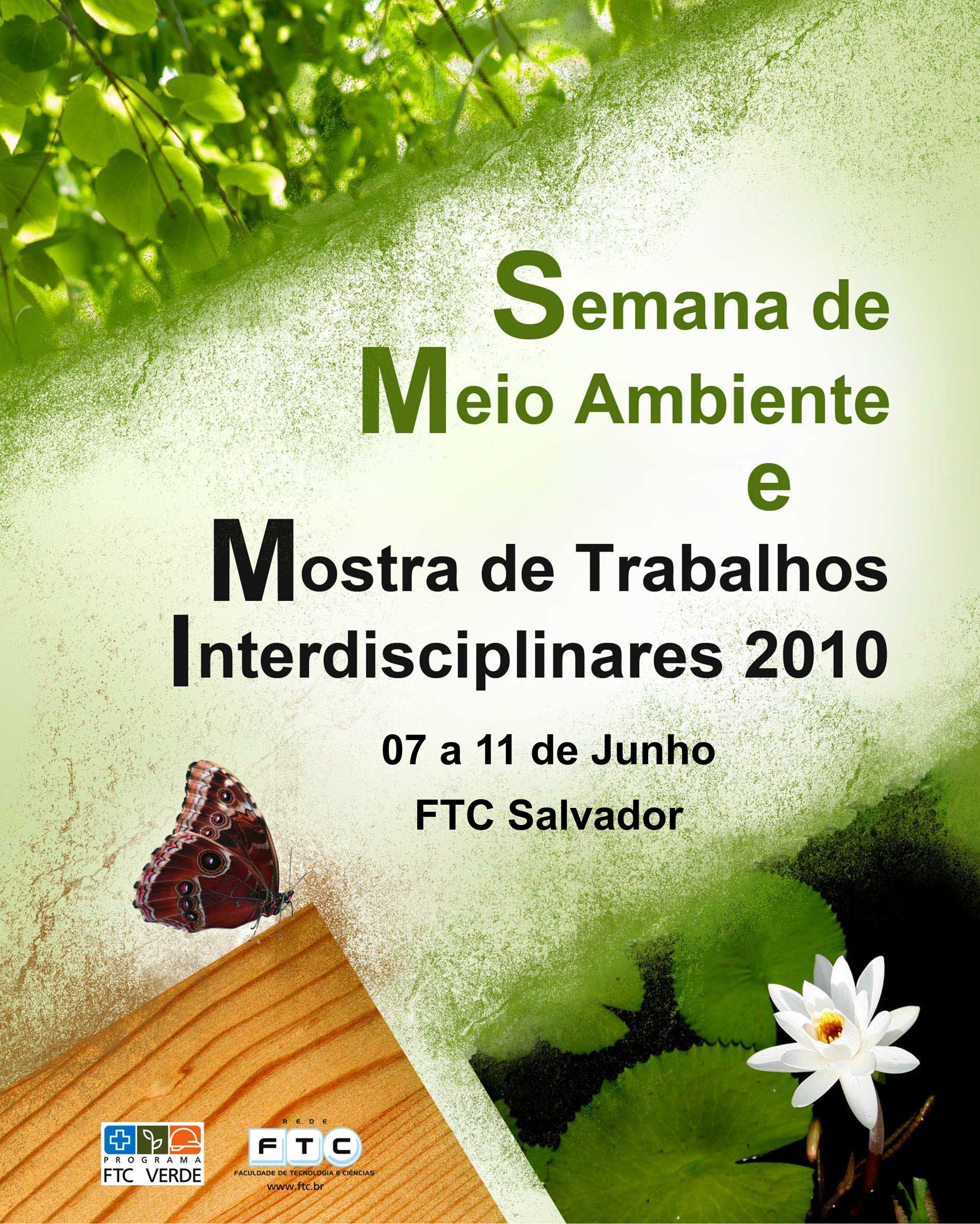 07 a 11 de Junho FTC Salvador