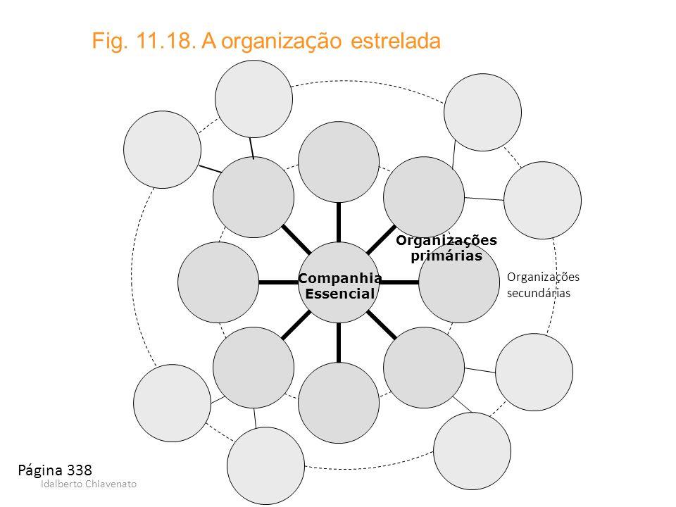 Fig. 11.18. A organização estrelada