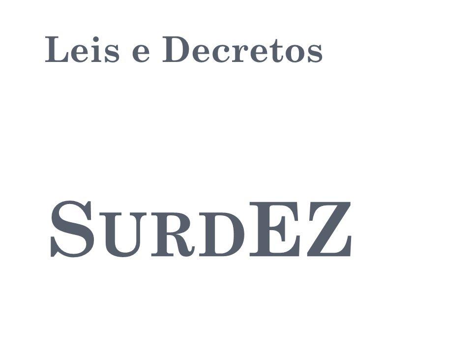 Leis e Decretos SurdEZ