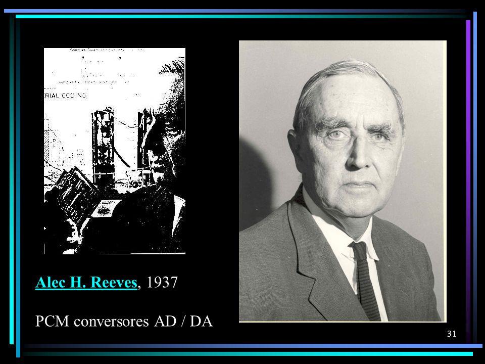 Alec H. Reeves, 1937 PCM conversores AD / DA