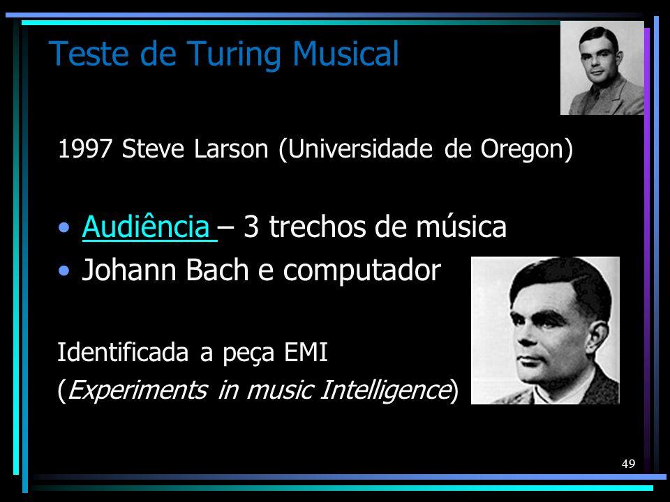 Teste de Turing Musical