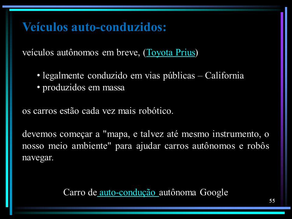 Carro de auto-condução autônoma Google