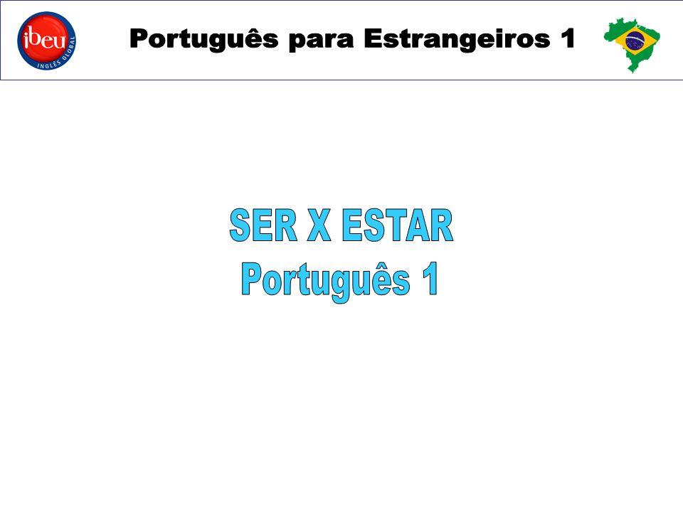 SER X ESTAR Português 1
