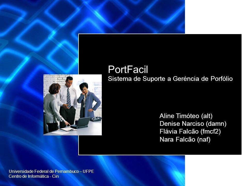 PortFacil Sistema de Suporte a Geréncia de Porfólio