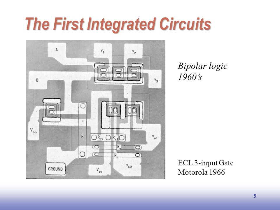 The First Integrated Circuits