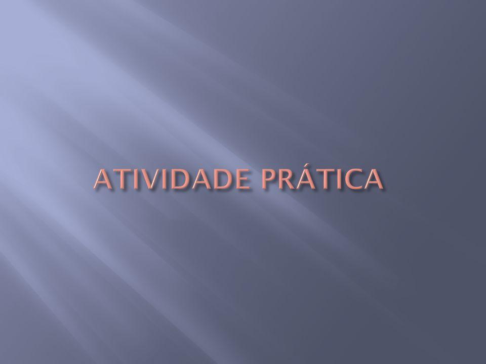 ATIVIDADE PRÁTICA