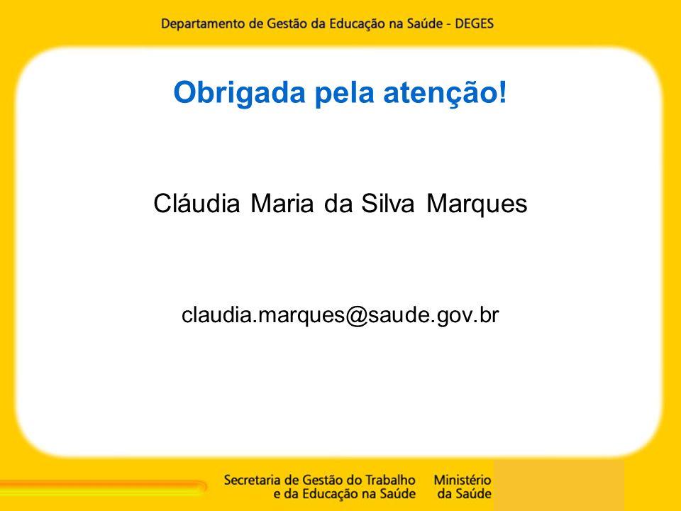 Cláudia Maria da Silva Marques