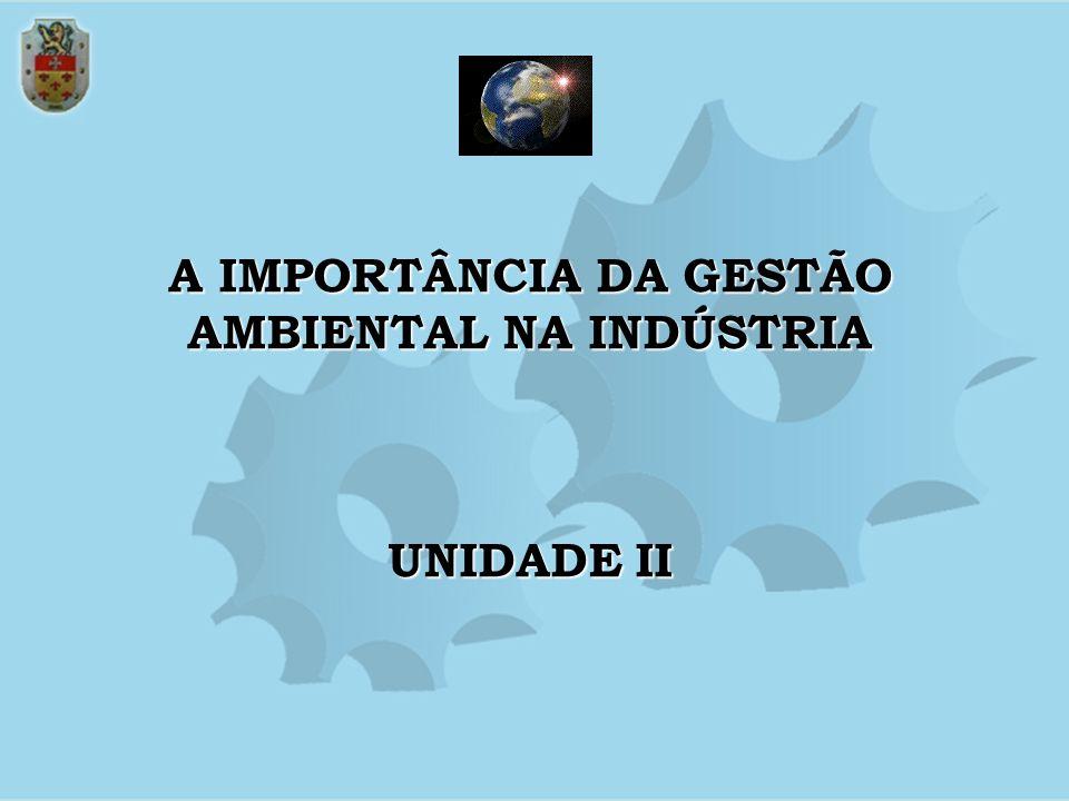 A IMPORTÂNCIA DA GESTÃO AMBIENTAL NA INDÚSTRIA