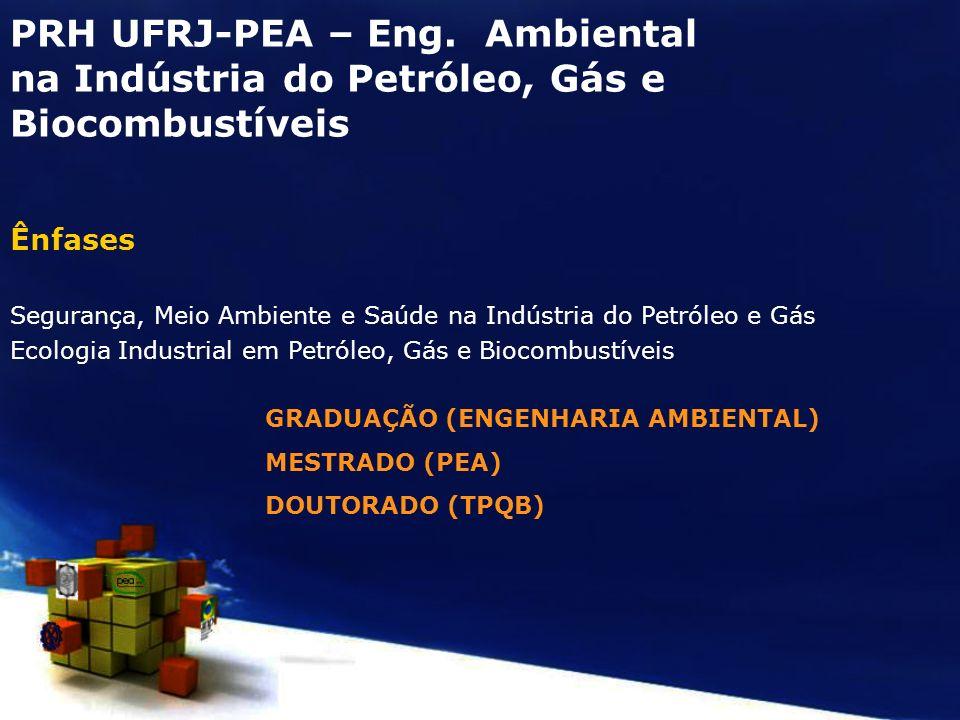 PRH UFRJ-PEA – Eng. Ambiental