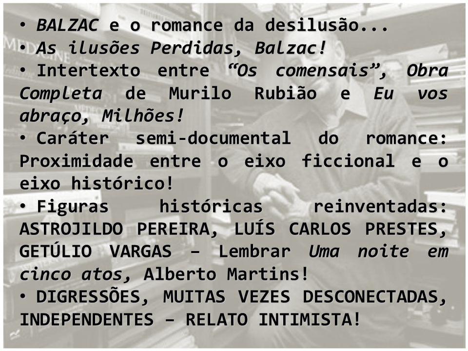 BALZAC e o romance da desilusão...