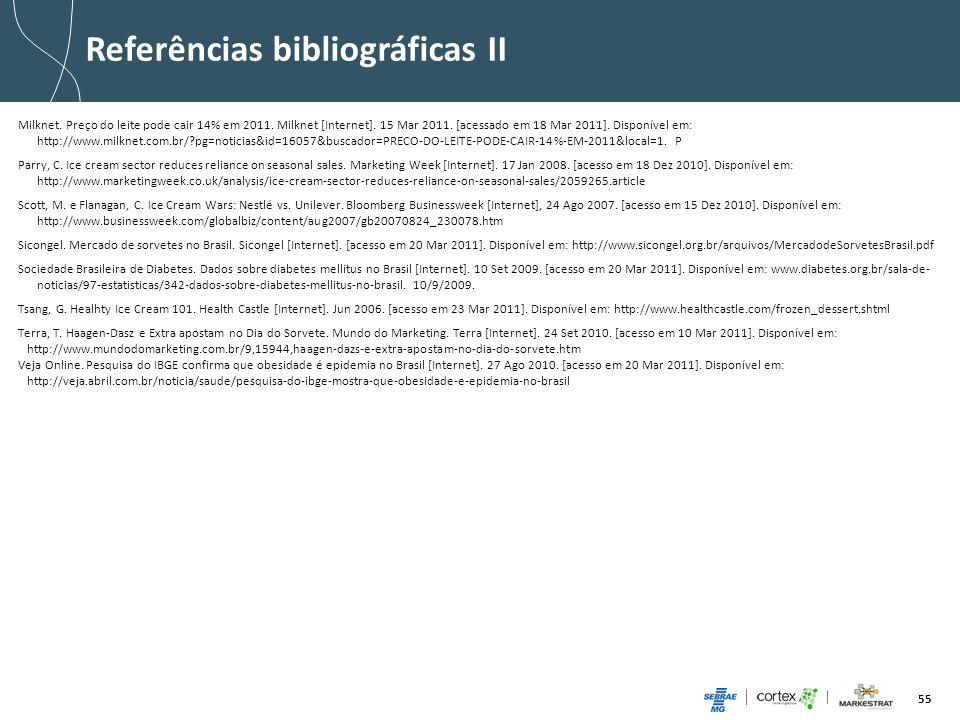 Referências bibliográficas II