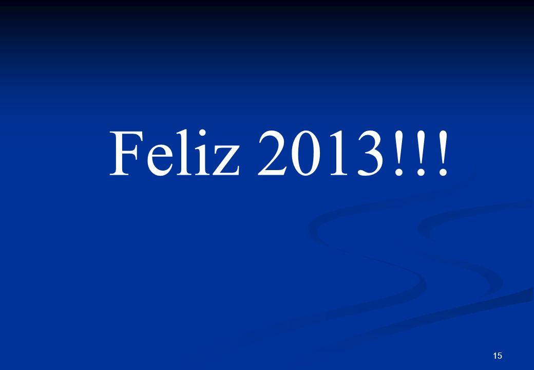 Feliz 2013!!!