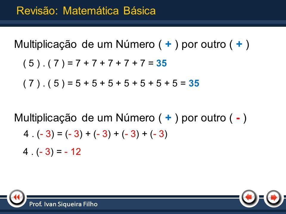 Revisão: Matemática Básica