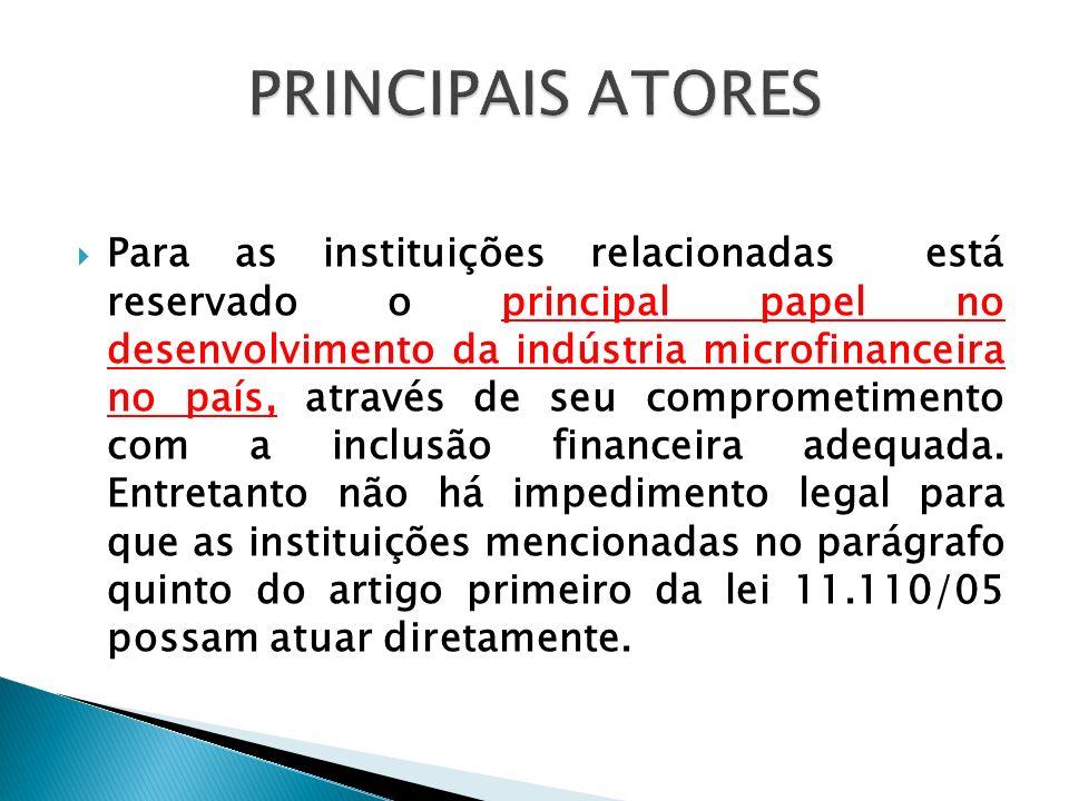 PRINCIPAIS ATORES