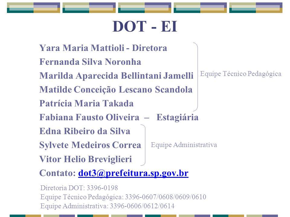 DOT - EI Yara Maria Mattioli - Diretora Fernanda Silva Noronha