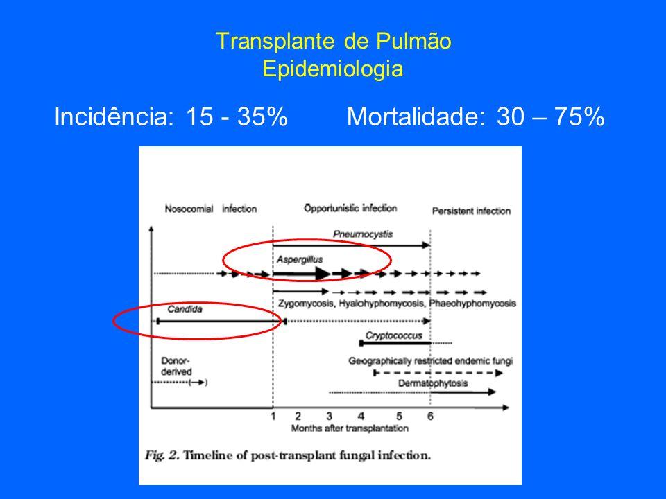 Transplante de Pulmão Epidemiologia