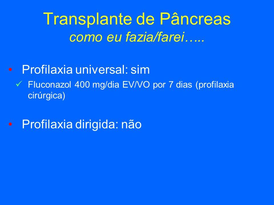 Transplante de Pâncreas como eu fazia/farei…..