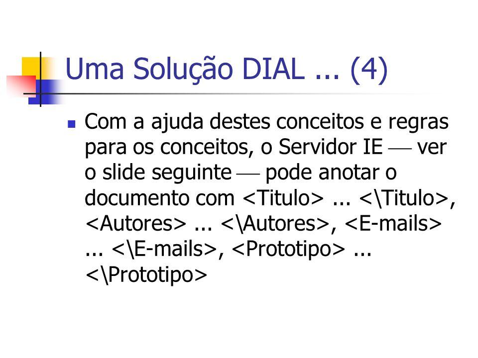 Uma Solução DIAL ... (4)