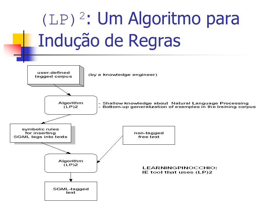 (LP)2: Um Algoritmo para Indução de Regras