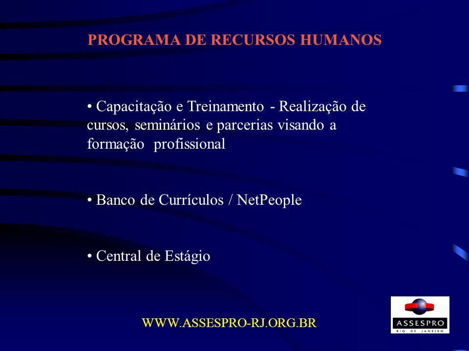 PROGRAMA DE RECURSOS HUMANOS
