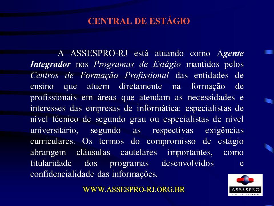 CENTRAL DE ESTÁGIO