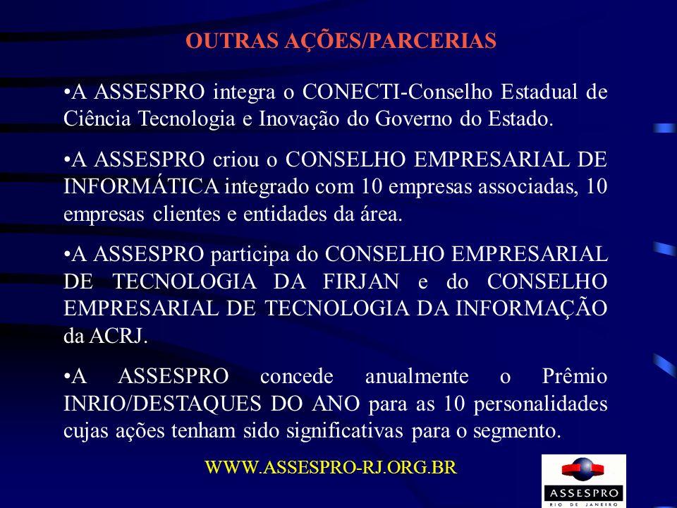 OUTRAS AÇÕES/PARCERIAS