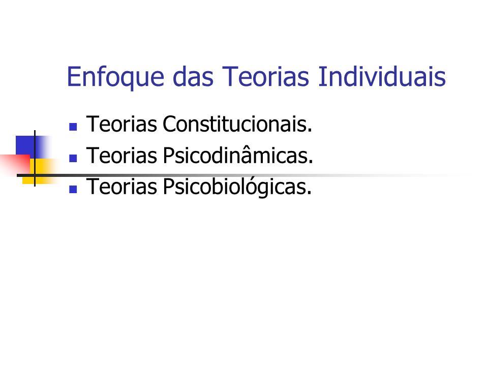Enfoque das Teorias Individuais