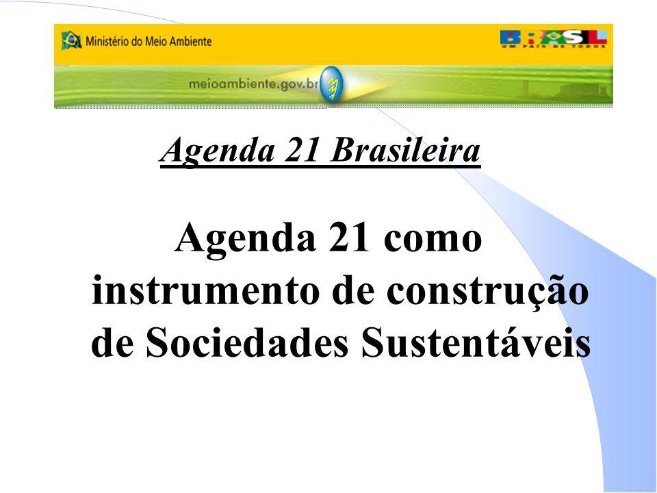 Agenda 21 como instrumento de construção de Sociedades Sustentáveis